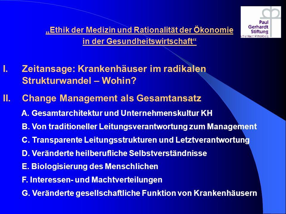 B.Moralische Vorentscheidungen durch Rahmenordnungen 24.