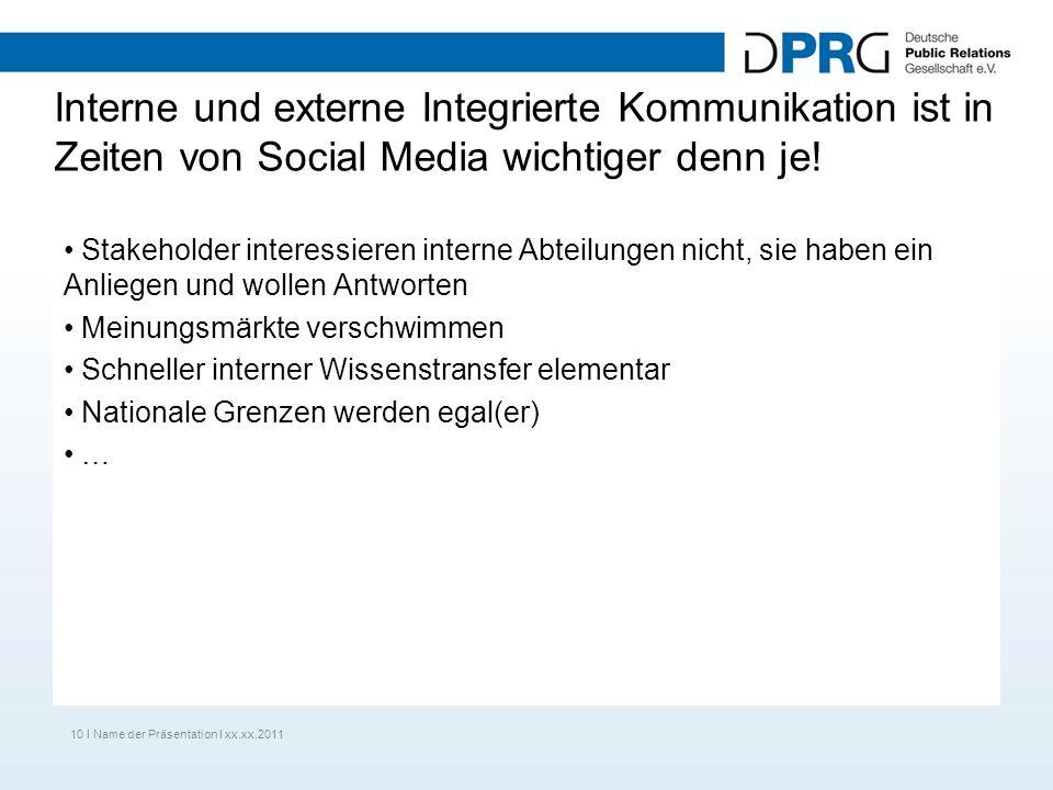 Interne und externe Integrierte Kommunikation ist in Zeiten von Social Media wichtiger denn je.
