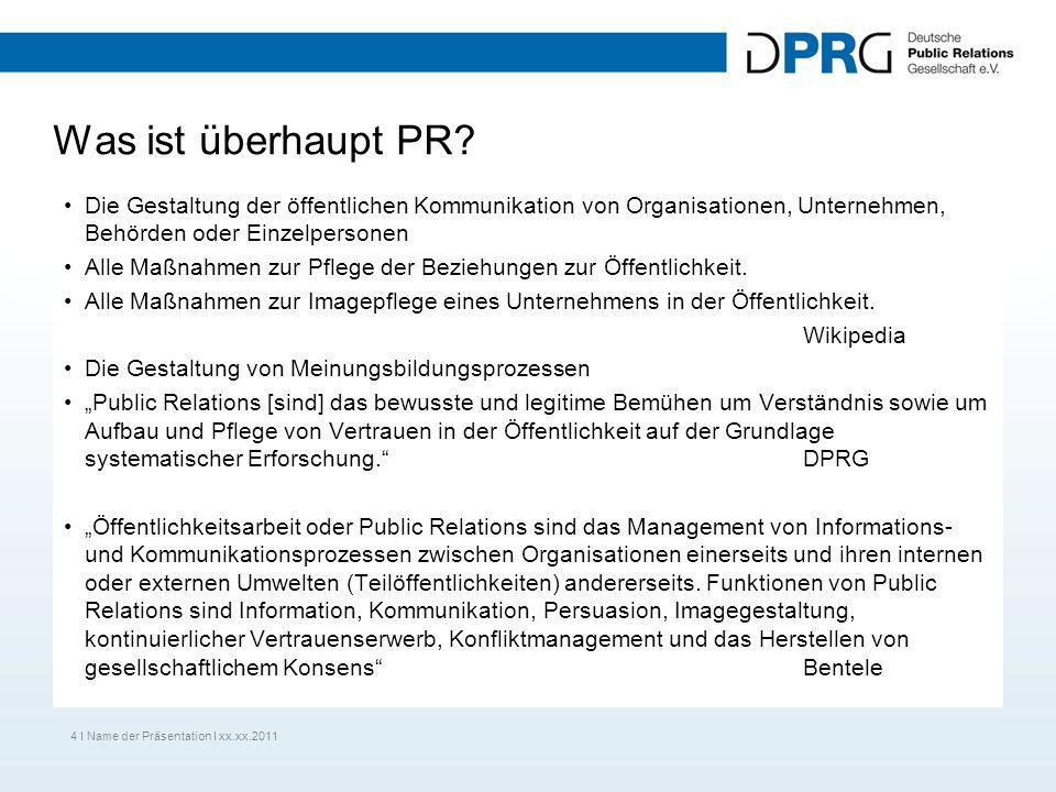 Was ist überhaupt PR? Die Gestaltung der öffentlichen Kommunikation von Organisationen, Unternehmen, Behörden oder Einzelpersonen Alle Maßnahmen zur P