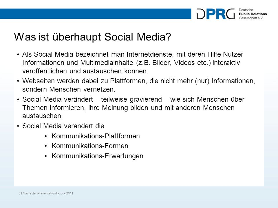 Was ist überhaupt Social Media? Als Social Media bezeichnet man Internetdienste, mit deren Hilfe Nutzer Informationen und Multimediainhalte (z.B. Bild