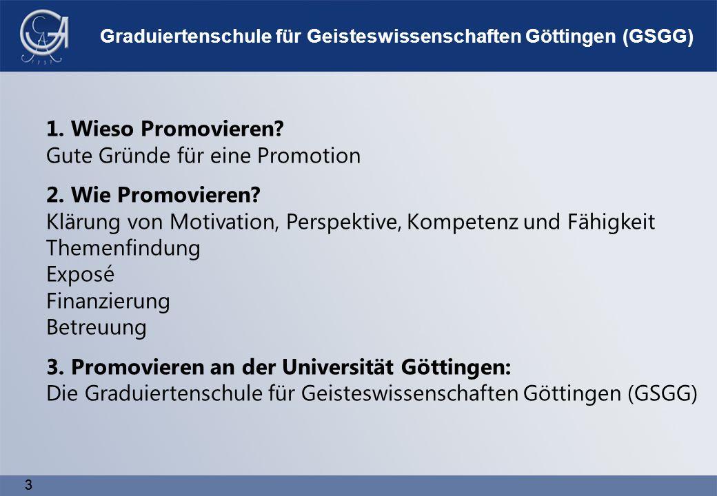 33 1. Wieso Promovieren. Gute Gründe für eine Promotion 2.
