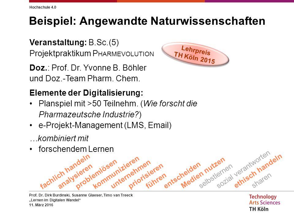 "Prof.Dr. Dirk Burdinski, Susanne Glaeser, Timo van Treeck ""Lernen im Digitalen Wandel 11."