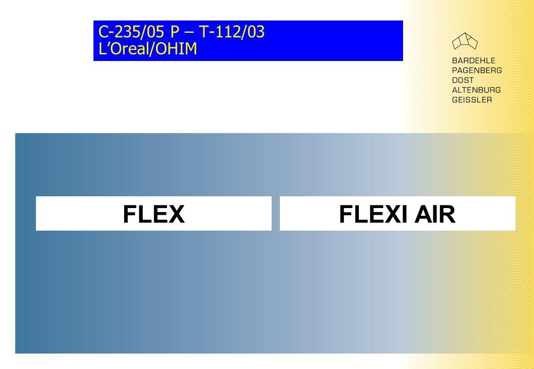 C-235/05 P – T-112/03 L'Oreal/OHIM FLEXFLEXI AIR