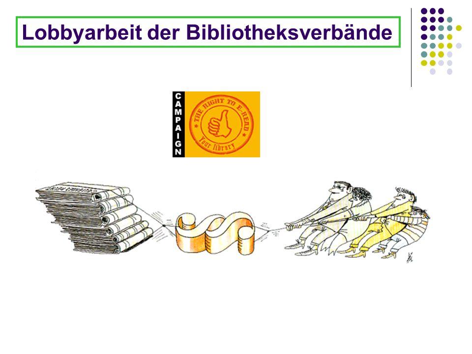 Lobbyarbeit der Bibliotheksverbände