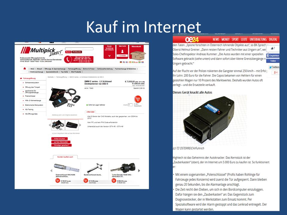 Kauf im Internet a 8