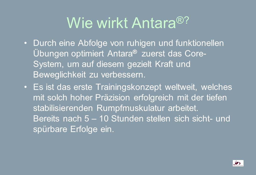 Wie wirkt Antara ®.