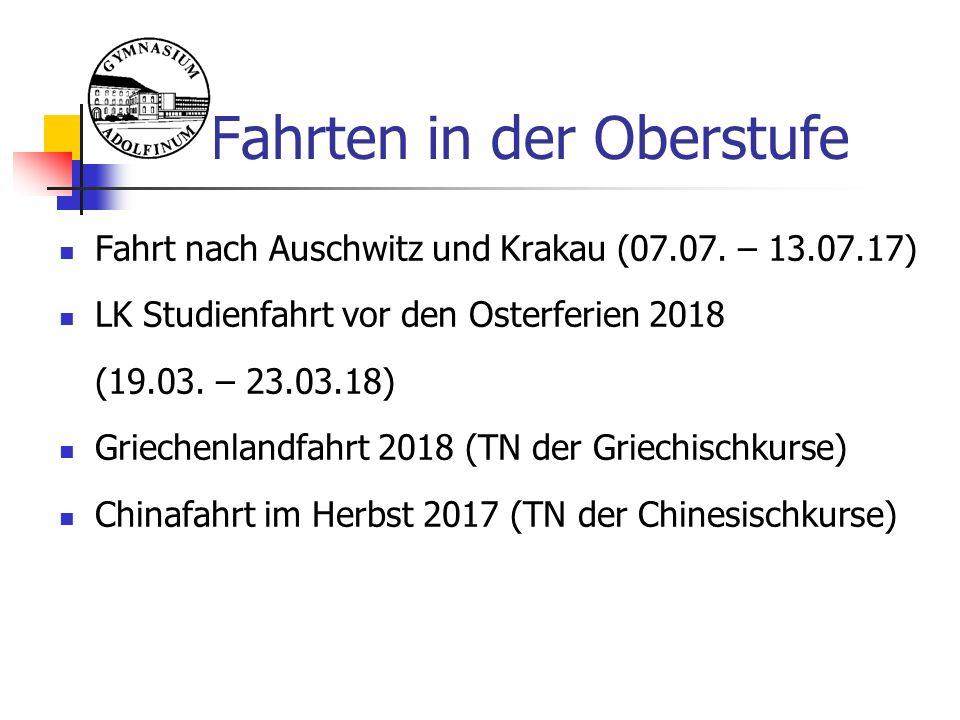 Fahrt nach Auschwitz und Krakau (07.07.