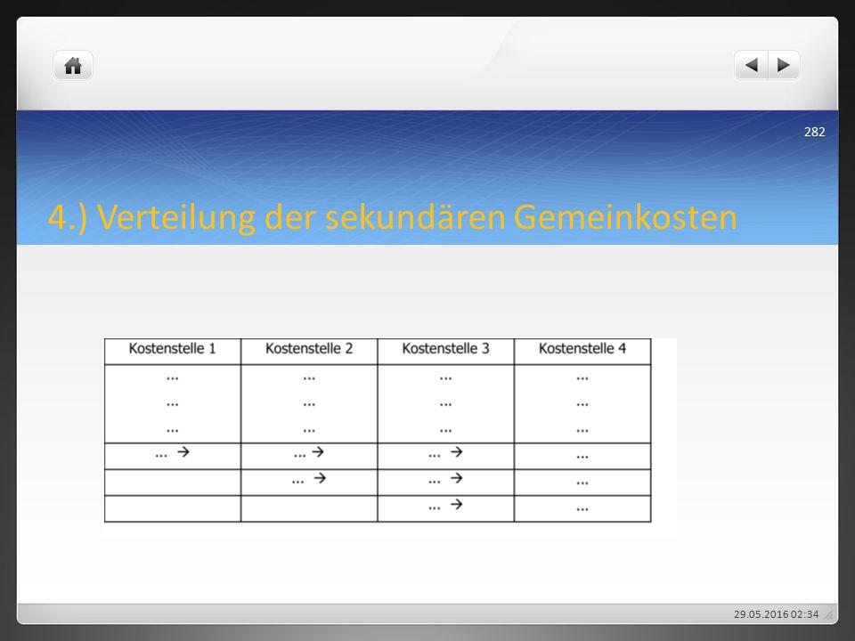 4.) Verteilung der sekundären Gemeinkosten 29.05.2016 02:38 282
