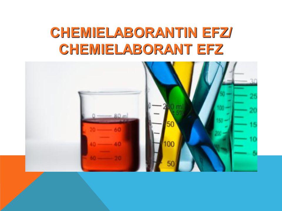 CHEMIELABORANTIN EFZ/ CHEMIELABORANT EFZ