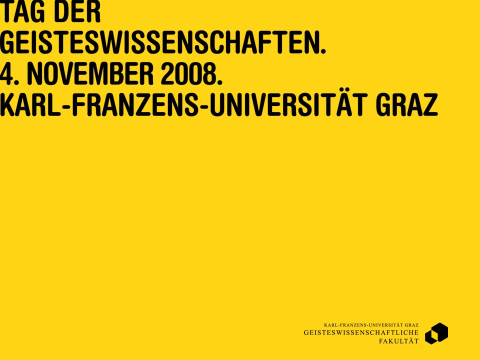 www.uni-graz.at/amst Wenn Sie mehr darüber wissen wollen, kontaktieren Sie mich: Roberta Maierhofer Institut für Amerikanistik Attemsgasse 25/II A-8010 Graz roberta.maierhofer@uni-graz.at