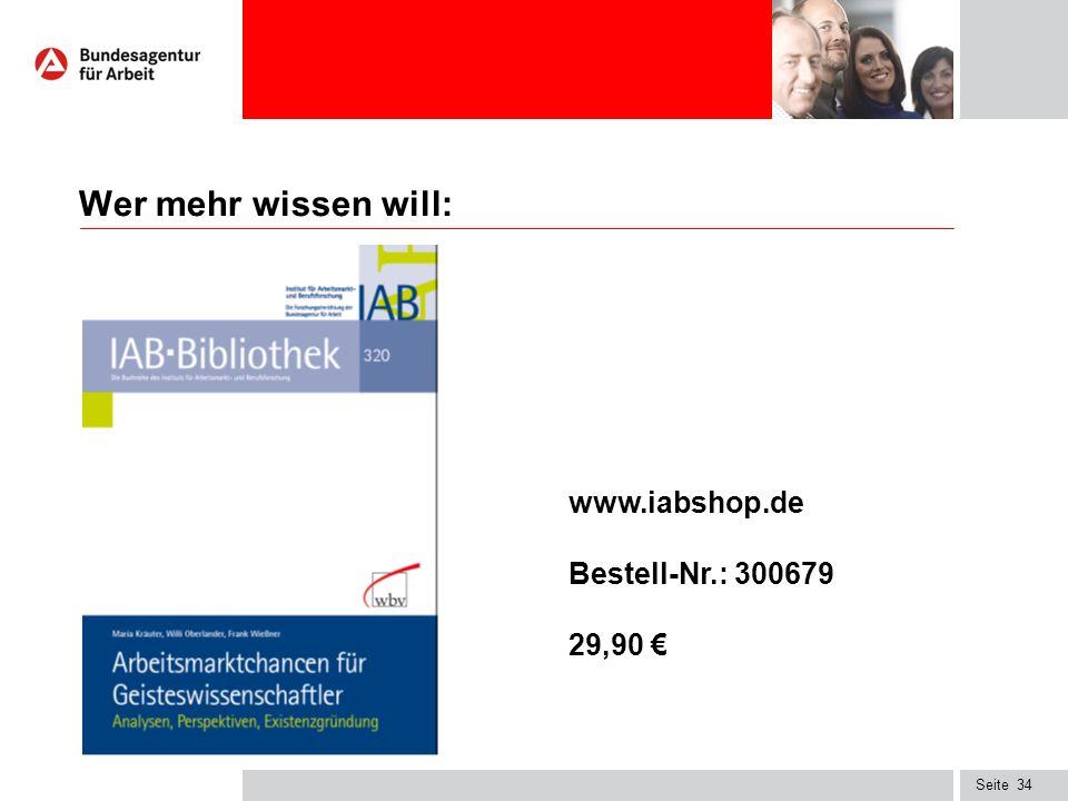 Seite34 Wer mehr wissen will: www.iabshop.de Bestell-Nr.: 300679 29,90 €