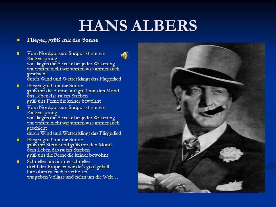 """Die Zensur Im Zweiten Weltkrieg war das Lied """"Lili Marleen von Lale Andersen gesungen das bekannteste und meistgespielte Soldatenlied."""
