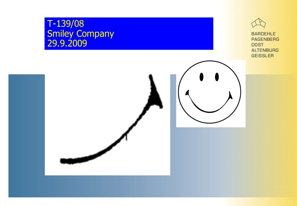 T-139/08 Smiley Company 29.9.2009