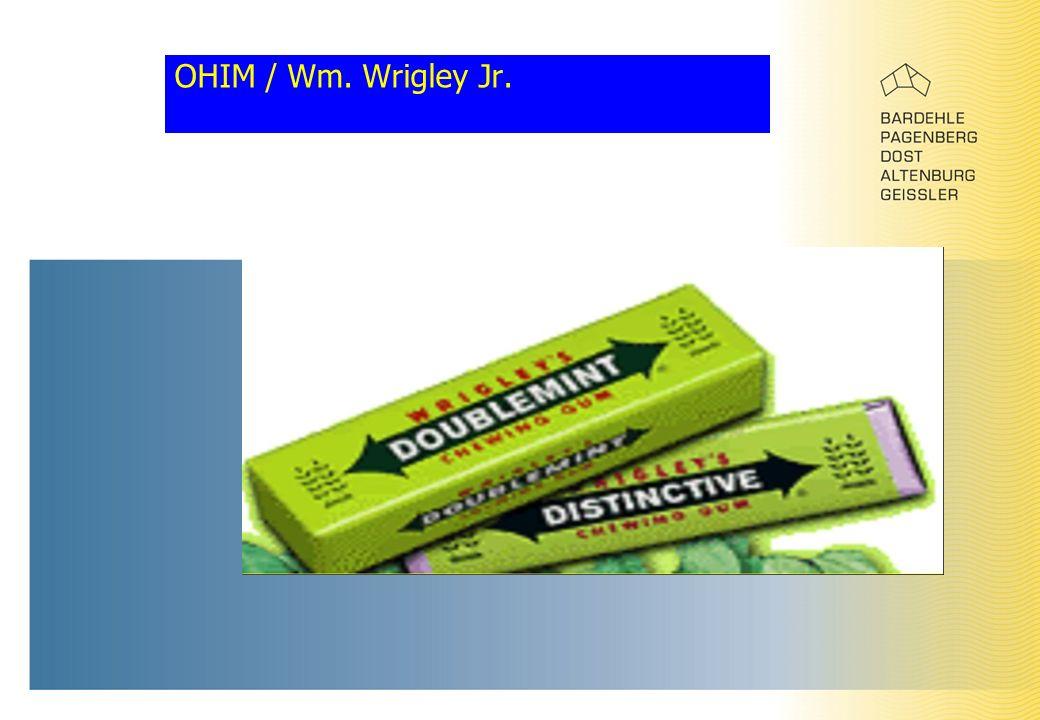OHIM / Wm. Wrigley Jr.
