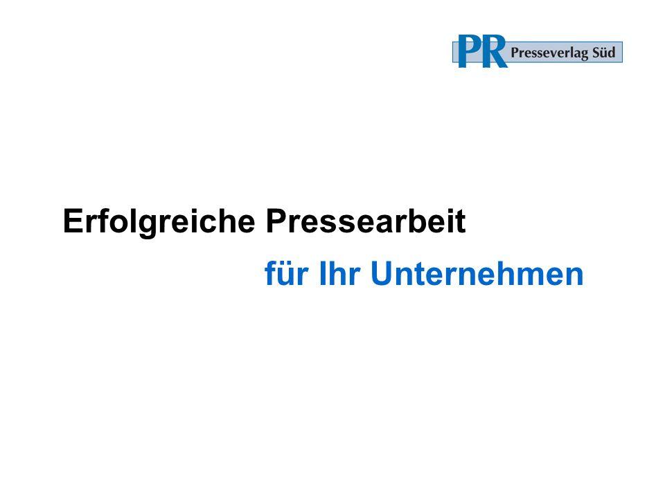 Erfolgreiche Pressearbeit für Ihr Unternehmen