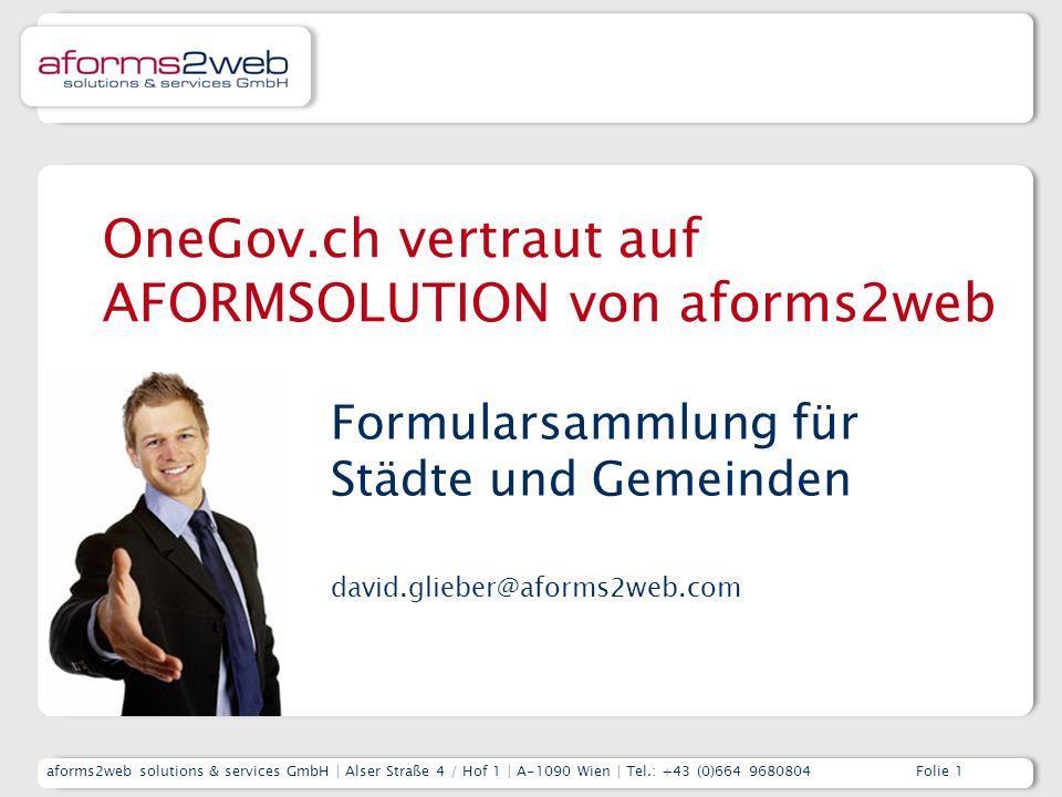 aforms2web & AFORMSOLUTION – Kurzpräsentation Unternehmen und ProdukteFolie 12 Stadt BERN - Fristerstreckung