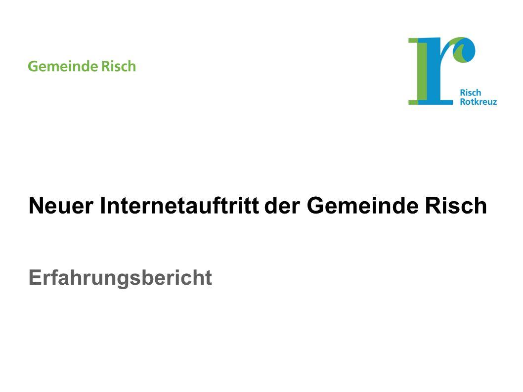 Erfahrungsbericht Neuer Internetauftritt der Gemeinde Risch