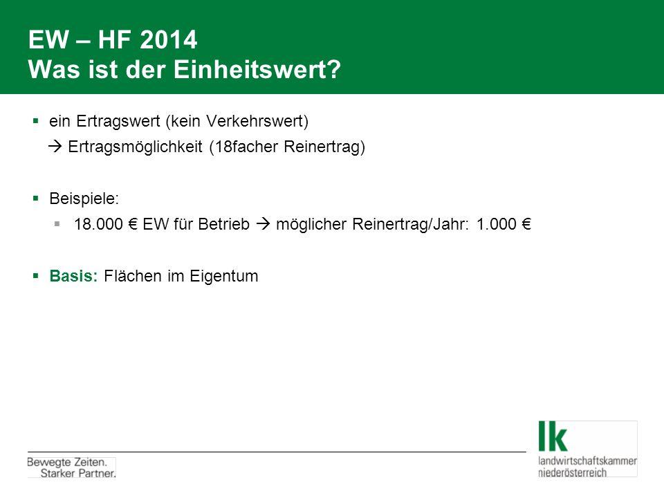 EW – HF 2014: Tierhaltung Richtlinien – Überdurchschnittliche Tierhaltung HF 2014 Betriebsgrößenklasse in red.