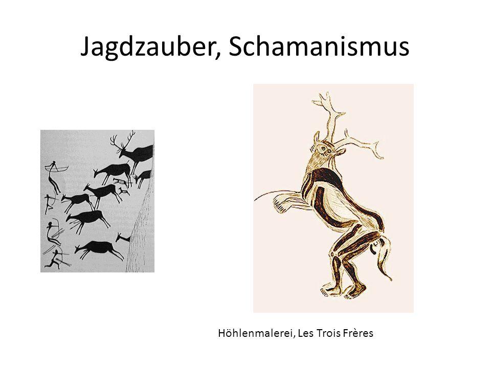 Jagdzauber, Schamanismus Höhlenmalerei, Les Trois Frères
