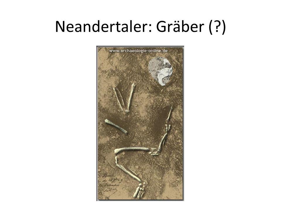 Neandertaler: Gräber ( )