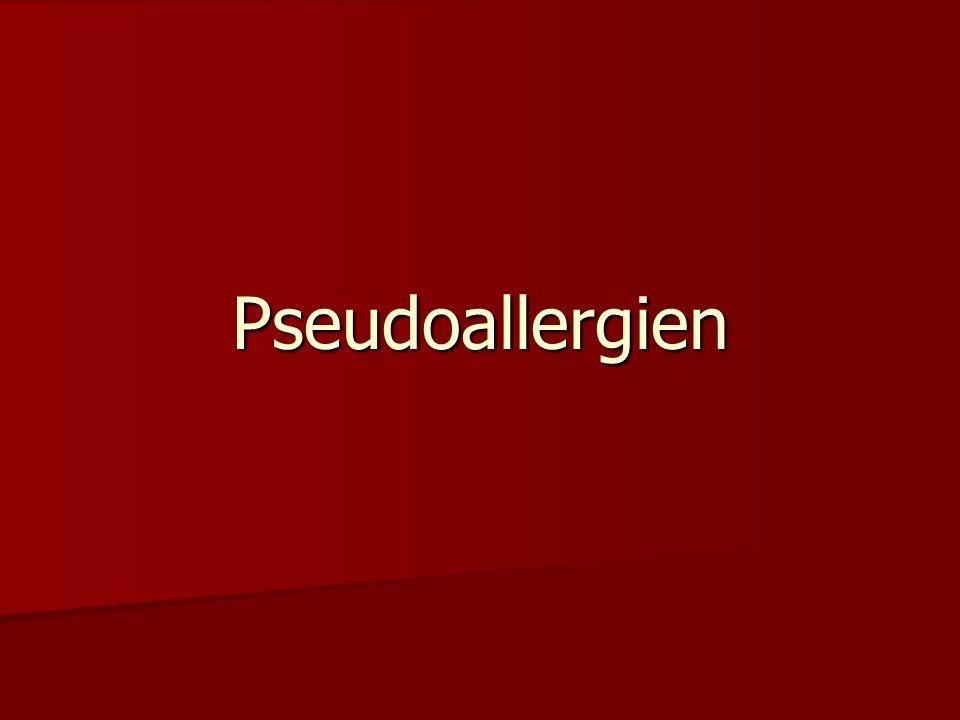 Pseudoallergien