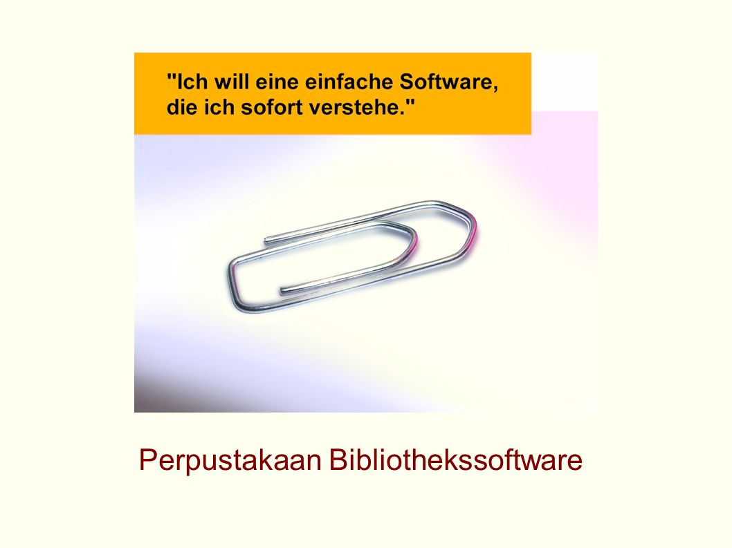 Perpustakaan Bibliothekssoftware