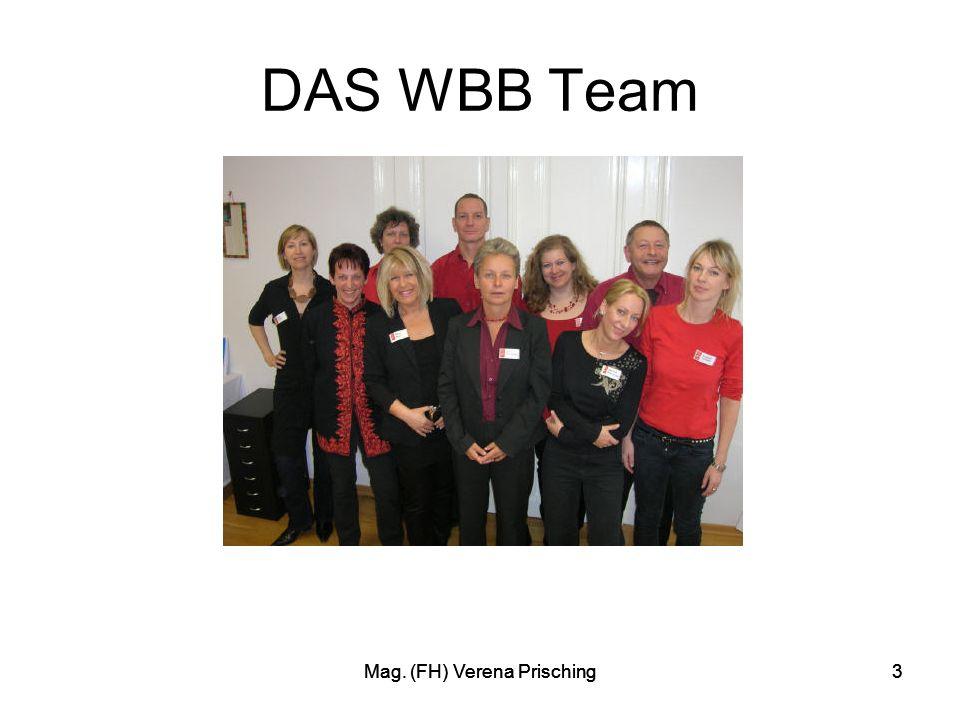 Mag. (FH) Verena Prisching3 3 DAS WBB Team