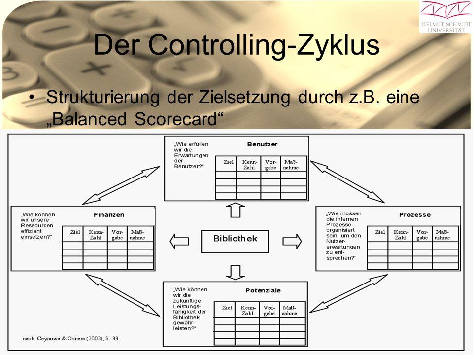 29.06.10Gleb Bäumler Arne Koberstein 28 Der Controlling-Zyklus Strukturierung der Zielsetzung durch z.B.