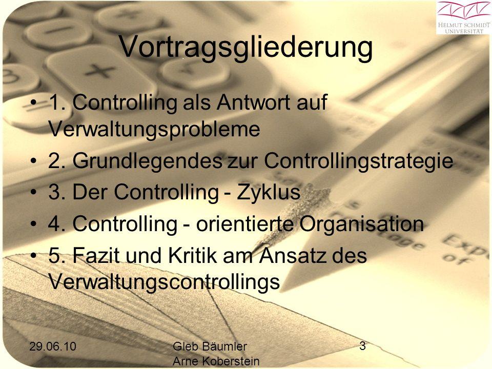 29.06.10Gleb Bäumler Arne Koberstein 3 Vortragsgliederung 1.