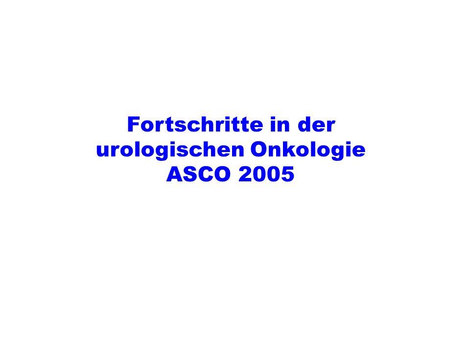 Fortschritte in der urologischen Onkologie ASCO 2005