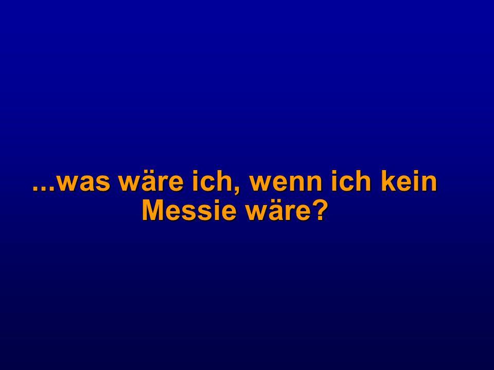 ...was wäre ich, wenn ich kein Messie wäre?