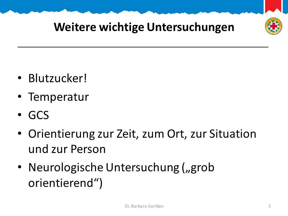 Ende! Dr. Barbara Gorißen26 _______________________________________________________________