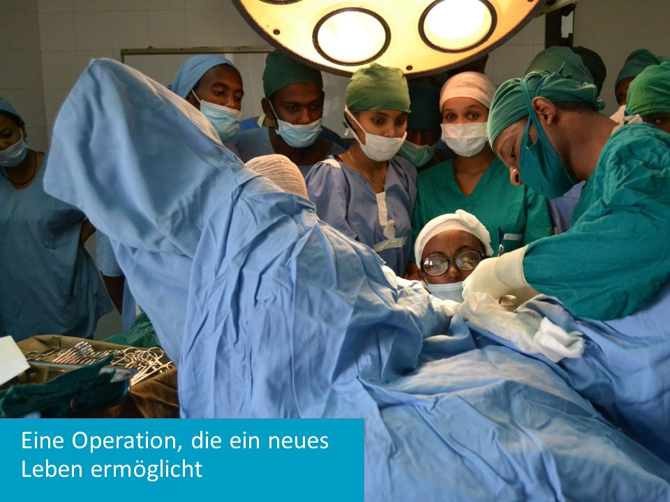 Eine Operation, die ein neues Leben ermöglicht