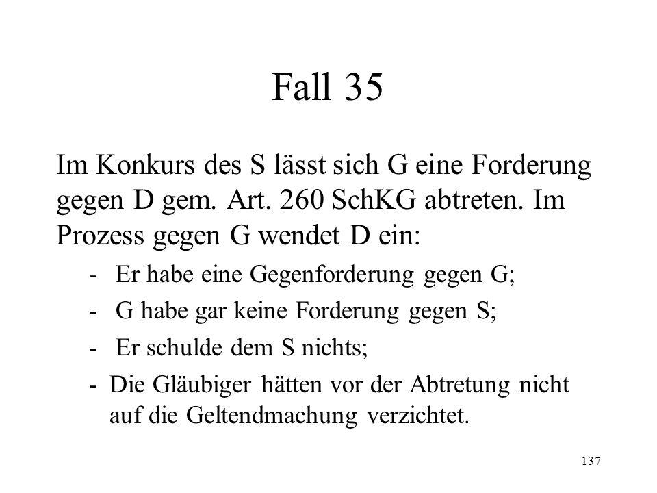 136 5. Abtretung nach Art.