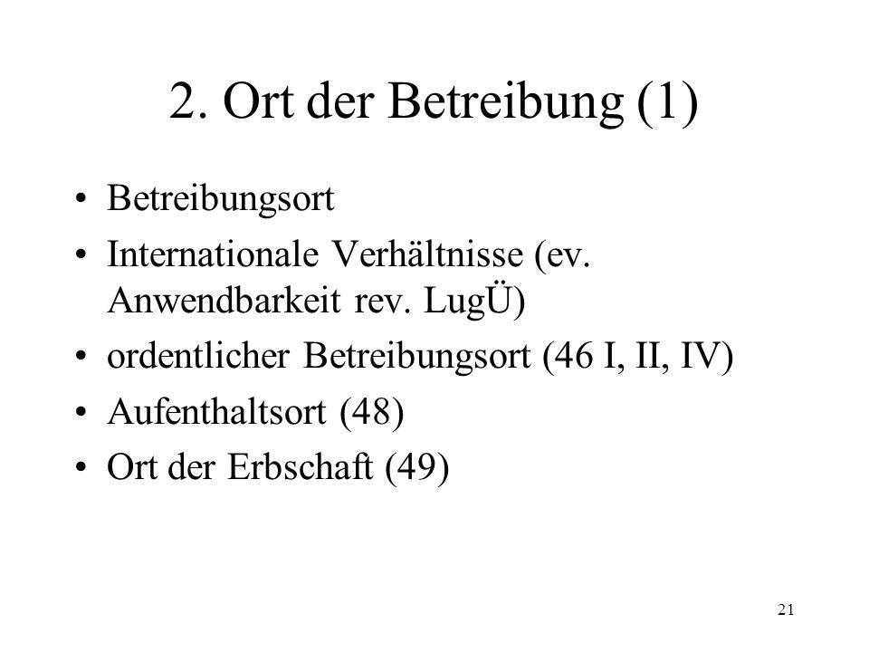 20 II. Verfahrensgrundsätze 1.