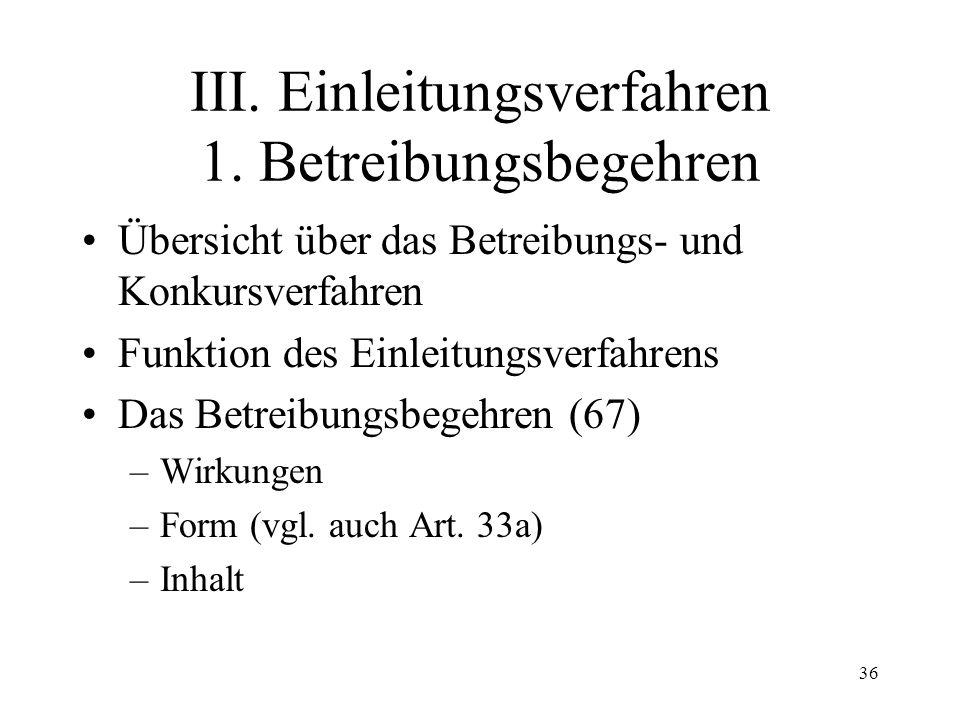 35 Fall 8 Schuldner S mit Wohnsitz in Basel hat ein Ferienhaus in Fiesch (VS). Da S mit der Zah- lung der Hypothekarzinsen im Rückstand liegt, erwirkt