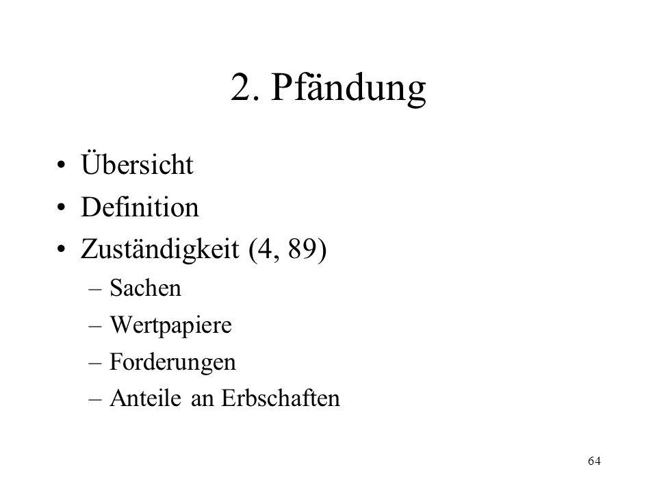 63 1. Fortsetzungsbegehren (88) Voraussetzungen Fristen Form Inhalt Rückzug neue Umrechnung