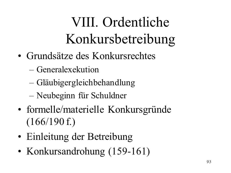 92 Art. 261 OR J. Wechsel des Eigentümers I.