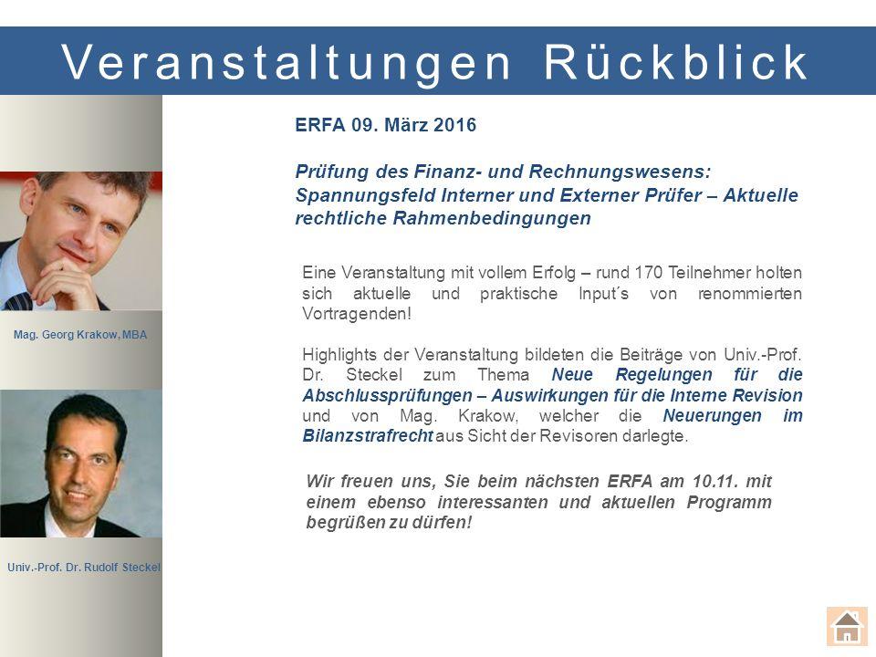 Veranstaltungen Rückblick ERFA 09.