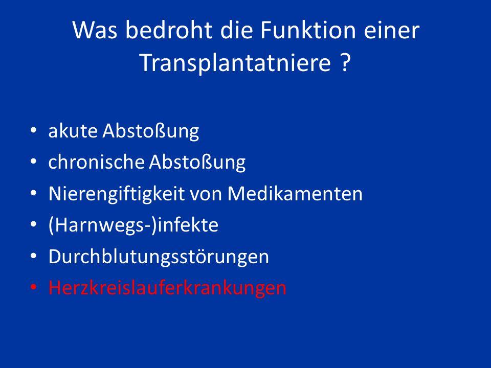 Wenn Sie heute eine Leichennierentransplantation erhalten, funktioniert die übertragene Niere im Durchschnitt 14,8 Jahre
