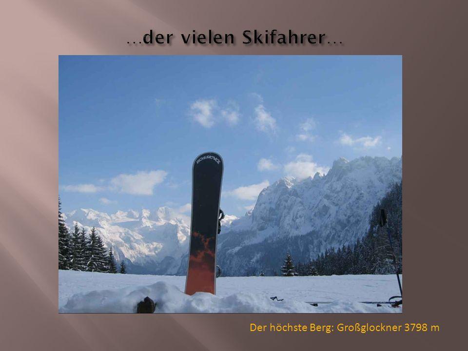 Der höchste Berg: Großglockner 3798 m