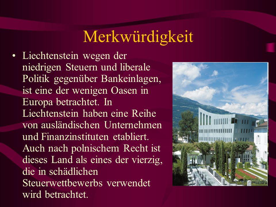 Liechtenstein verfügt über keine eigene Armee.Äußere Sicherheit des Staates sieht, Schweiz.