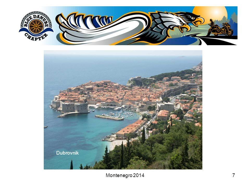 Montenegro 20147 Dubrovnik