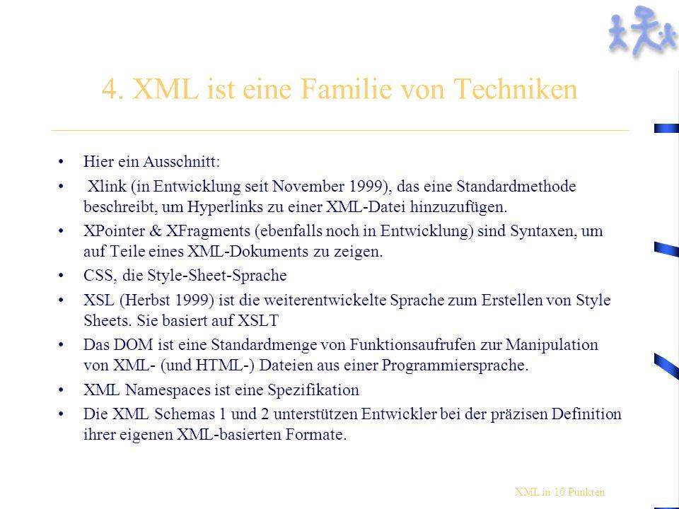 Einbinden in XML Markus Susu Mimi