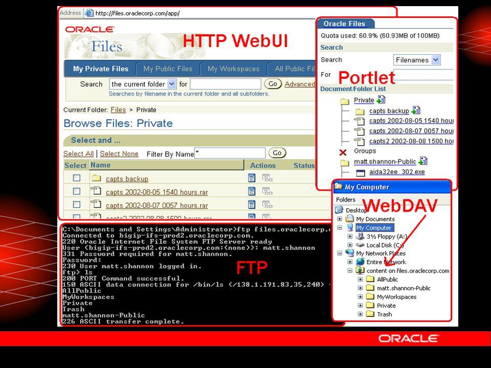 Oracle Ultra Search  Fertige Lösung, die – verschiedenste Datenquellen durchsucht – Web UI und Java API.