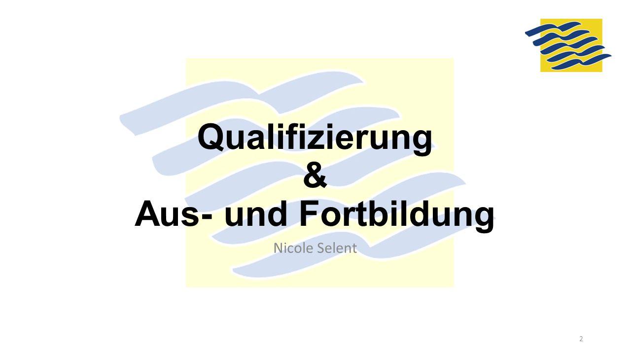 Qualifizierung & Aus- und Fortbildung Nicole Selent 2