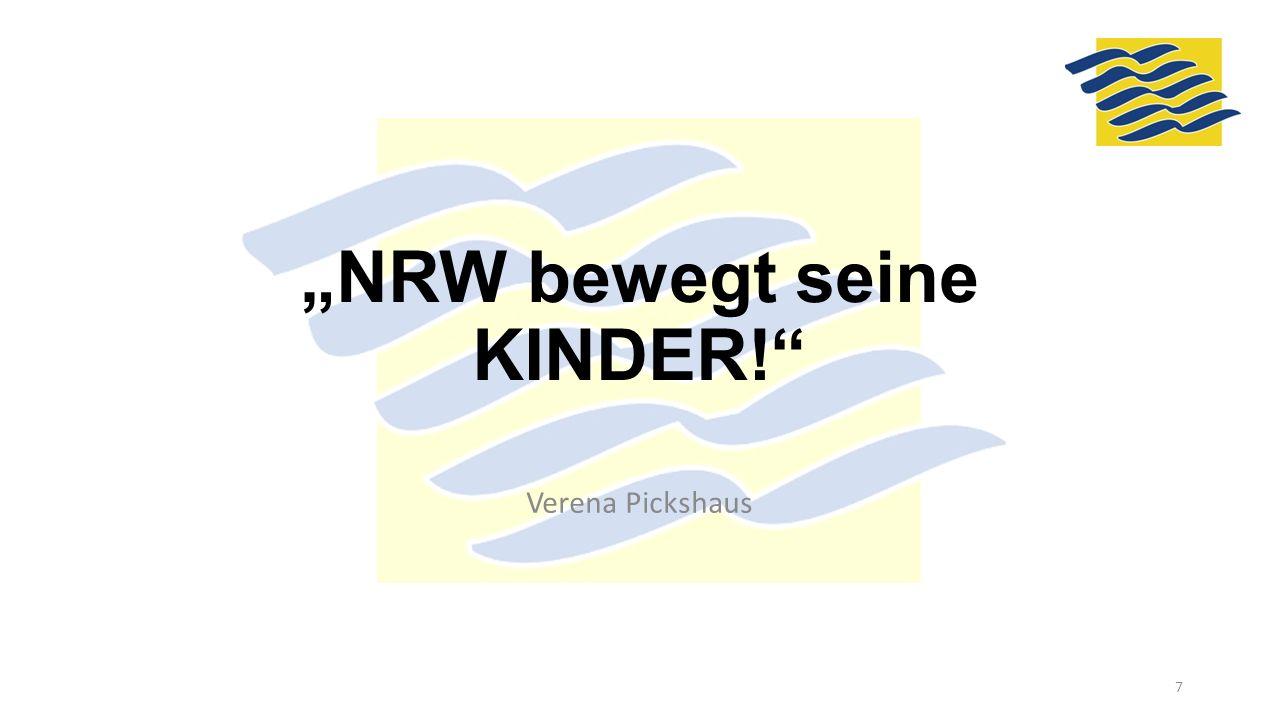 """""""NRW bewegt seine KINDER!"""" Verena Pickshaus 7"""