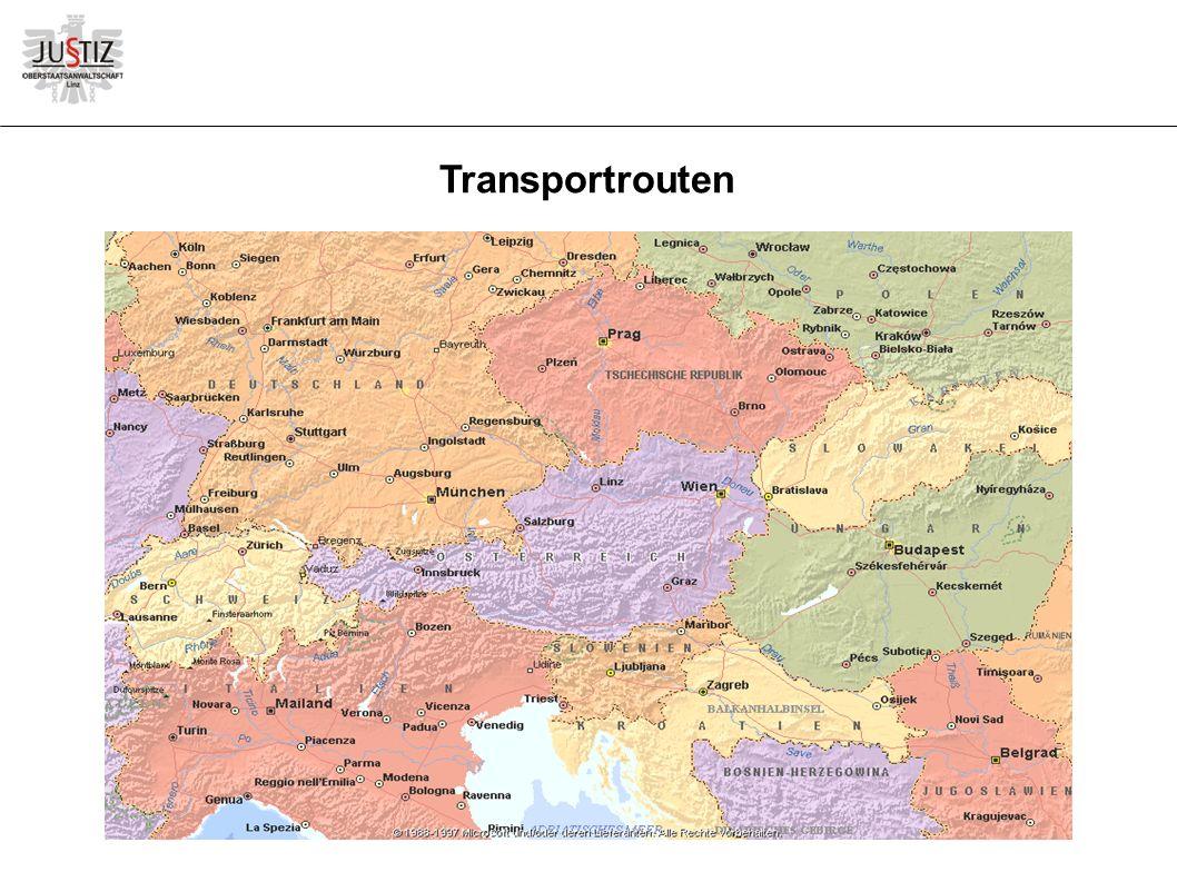 Transportrouten