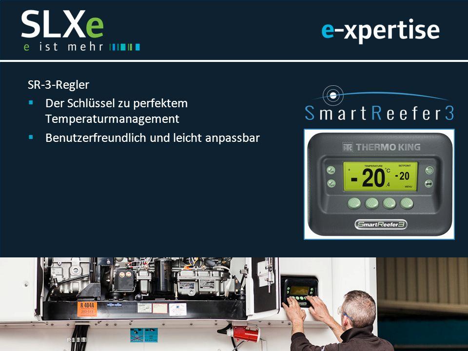 SR-3-Regler  Der Schlüssel zu perfektem Temperaturmanagement  Benutzerfreundlich und leicht anpassbar