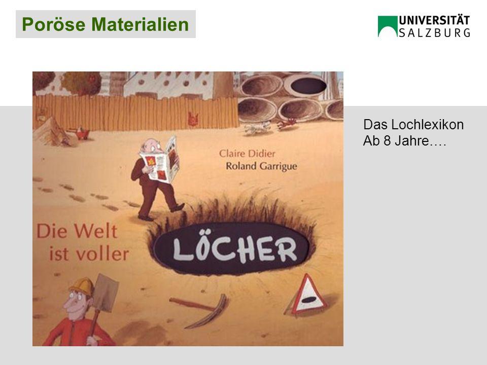 Poröse Materialien Das Lochlexikon Ab 8 Jahre….
